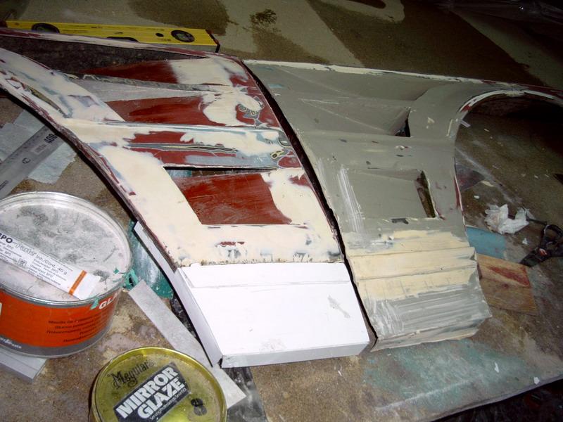 Как сделать крылья из стеклопластика 171